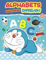 Alphabets With Doraemon Activity Book cover