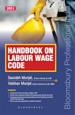 Handbook on Labour Wage Code cover