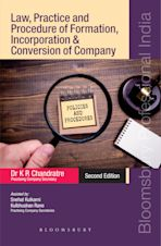Law, Practice And Procedure Of Formation, Incorporation And Conversion Of A Company cover