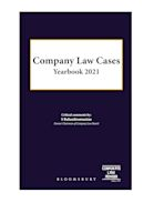 Company Law Cases Yearbook 2021 cover