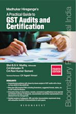 Madhukar Hiregange's A Practical Guide to GST Audits and Certification cover