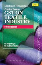 Madhukar Hiregange's Practical Guide to GST on Textile Industry cover