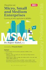 Treatise on Micro, Small and Medium Enterprises cover
