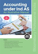 Accounting under Ind AS: An Illustrative Manual, 3e cover