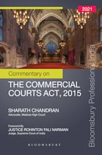 Commentary on the Commercial Courts Act, 2015 cover
