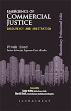 Emergence of Commercial Justice: Insolvency & Arbitration, First Edition cover