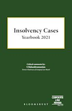 Insolvency Cases Yearbook 2021 cover