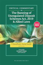 Critical Commentary on the Banning of Unregulated Deposit Schemes Act, 2019 and Allied Laws, Second Edition cover