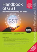 Handbook of GST Procedure, Commentary and Rates, 7e cover