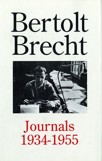 Bertolt Brecht Journals, 1934-55 cover