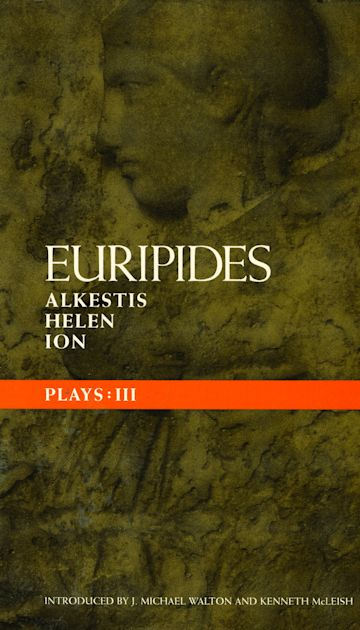 Euripides Plays: 3 cover