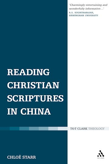 Reading Christian Scriptures in China cover