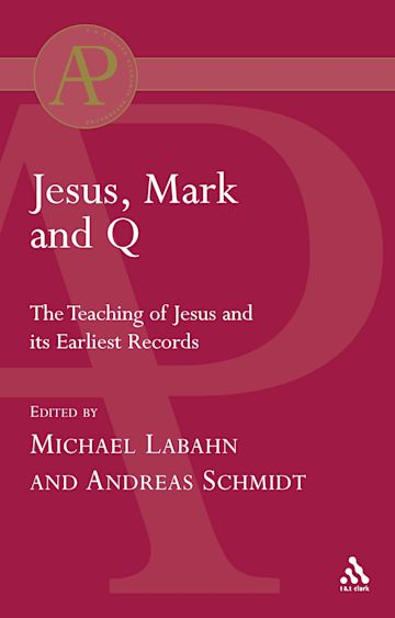 Jesus, Mark and Q cover