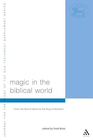 Magic in the Biblical World cover
