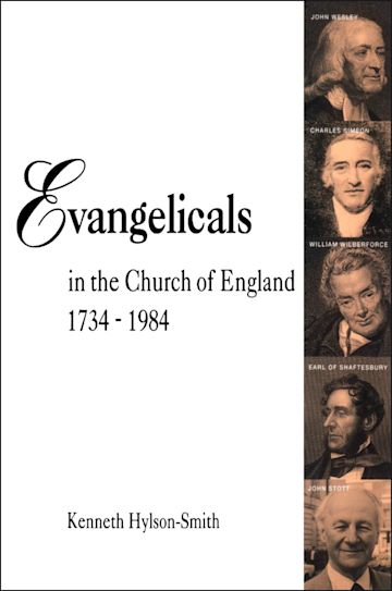 Evangelicals in the Church of England 1734-1984 cover