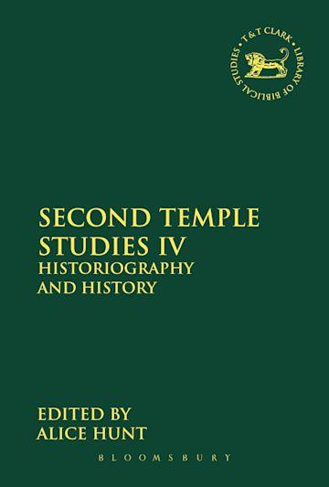 Second Temple Studies IV cover