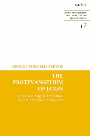 The Protevangelium of James cover