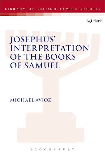 Josephus' Interpretation of the Books of Samuel cover