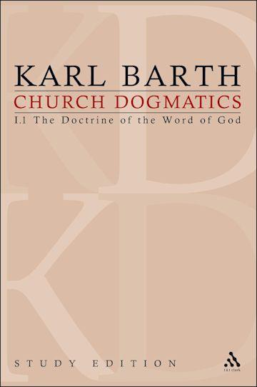 Church Dogmatics Study Edition 2 cover