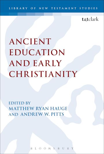 Ancient Education and Early Christianity cover
