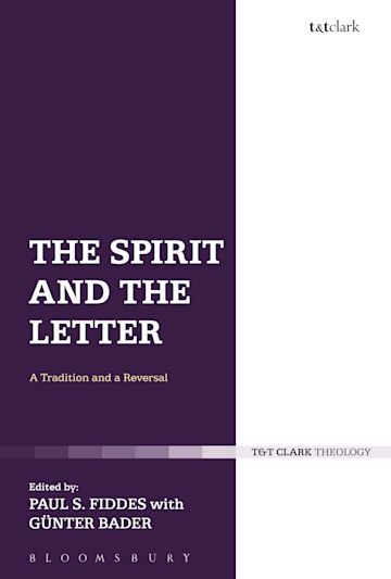 The Spirit and the Letter cover