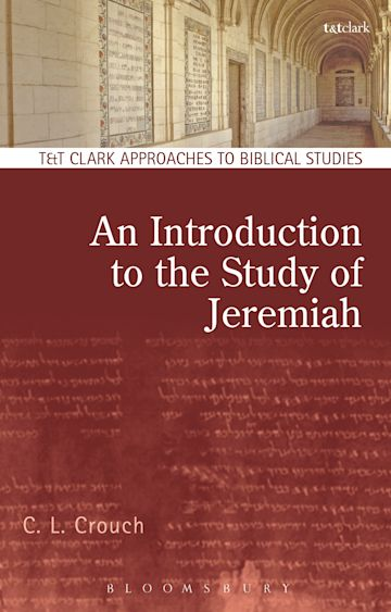 An Introduction to the Study of Jeremiah cover