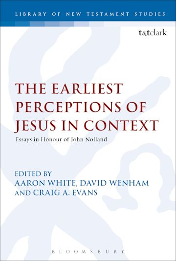 The Earliest Perceptions of Jesus in Context cover