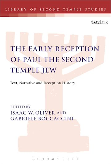 The Early Reception of Paul the Second Temple Jew cover