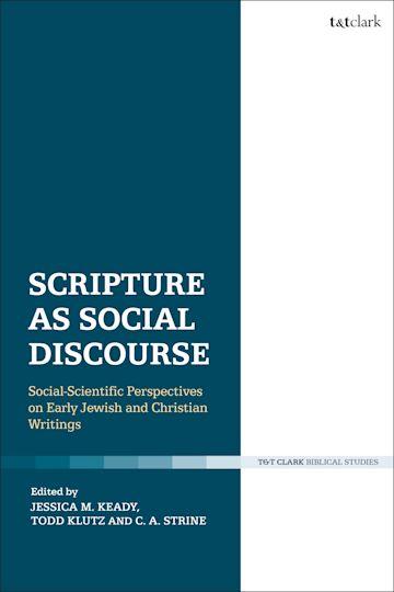 Scripture as Social Discourse cover