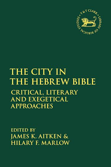 The City in the Hebrew Bible cover
