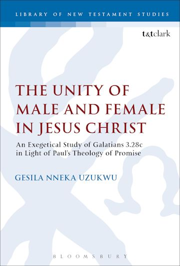 The Unity of Male and Female in Jesus Christ cover