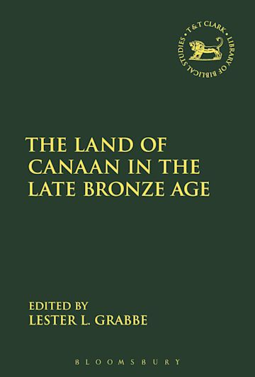 The Land of Canaan in the Late Bronze Age cover