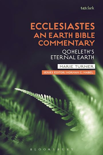 Ecclesiastes: An Earth Bible Commentary cover