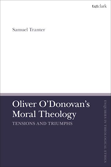 Oliver O'Donovan's Moral Theology cover