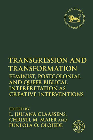 Transgression and Transformation cover