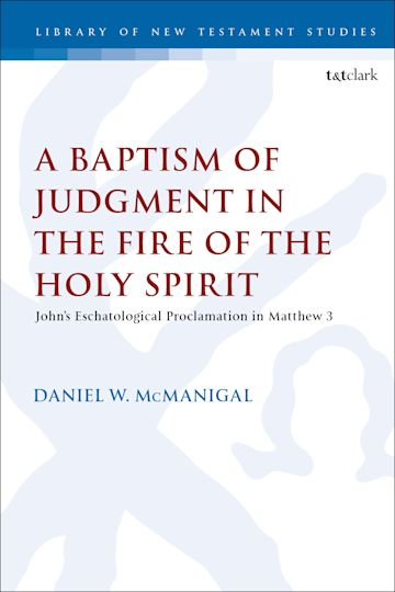 A Baptism of Judgment in the Fire of the Holy Spirit cover
