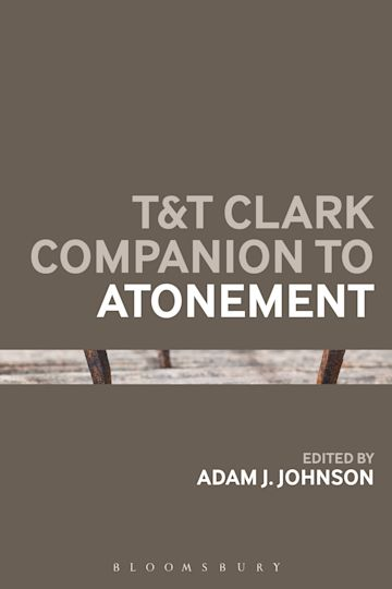 T&T Clark Companion to Atonement cover