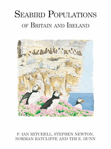 Seabird Populations of Britain and Ireland cover