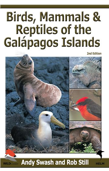 Birds, Mammals and Reptiles of the Galapagos Islands cover