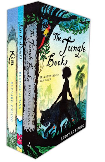 Illustrated Kipling Classics Three-Book Pack cover