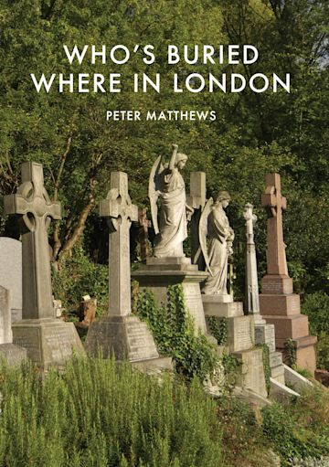 Who's Buried Where in London cover