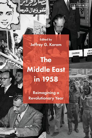 The Middle East in 1958 cover