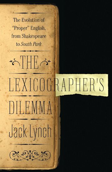The Lexicographer's Dilemma cover