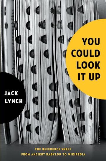You Could Look It Up cover