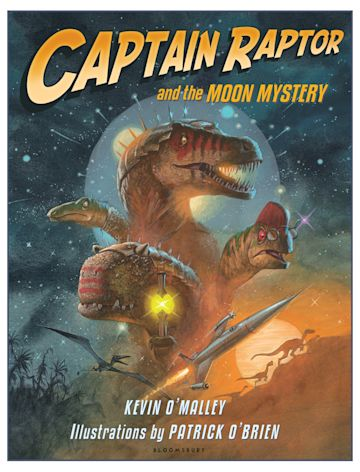 Captain Raptor and the Moon Mystery cover