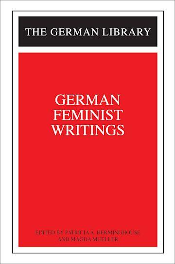 German Feminist Writings cover
