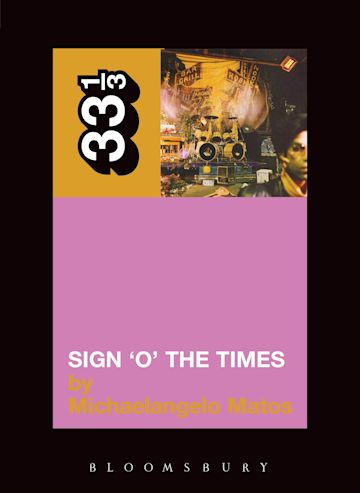 Prince's Sign 'O' the Times cover