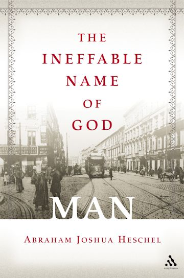 The Ineffable Name of God: Man cover