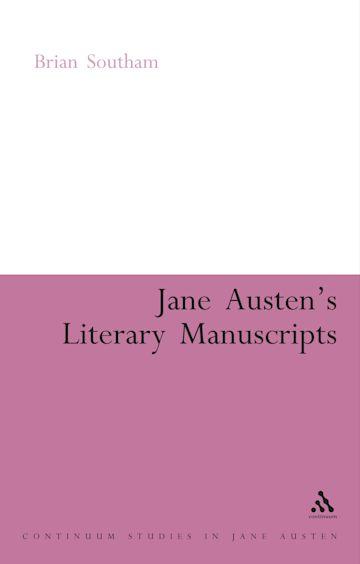 Jane Austen's Literary Manuscripts cover