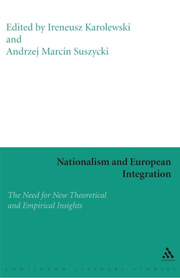 Nationalism and European Integration cover